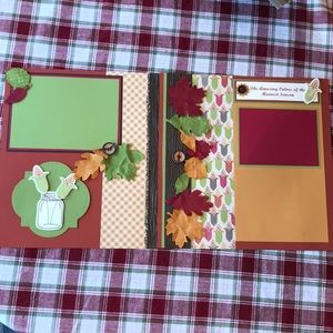 6 Beautiful Scrapbook Pages ready for your pix